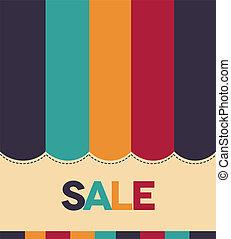 kleurrijke, verkoop