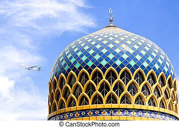 KLIA Mosque - The beautiful Kuala Lumpur International...