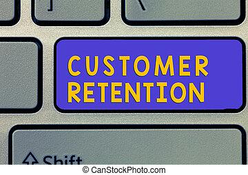 klient, keeping, pojęcie, retention., tekst, możliwy, lojalny, klientela, dużo, zachować, pismo, treść