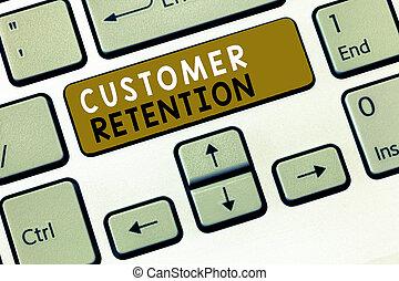 klient, keeping, retention., tekst, pokaz, klientela, znak, lojalny, fotografia, konceptualny, zachować, dużo, możliwy
