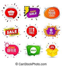 klient, my, sprzężenie zwrotne, poznaczcie., symbol., twój, wektor, przegląd, potrzeba, zdanie, albo