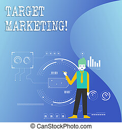 klient, segmentation, marketing., tarcza, handlowy, fotografia, pokaz, pisanie, nuta, audiencja, showcasing, celowanie, selection., targ
