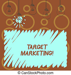 klient, segmentation, marketing., tarcza, tekst, pokaz, znak, audiencja, fotografia, konceptualny, celowanie, selection., targ
