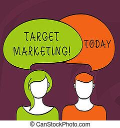 klient, segmentation, pojęcie, marketing., tarcza, handlowy, tekst, pisanie, audiencja, słowo, celowanie, selection., targ