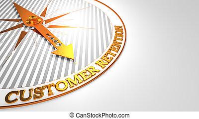 klient, złoty, compass., retencja