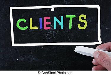 klienter, begreb