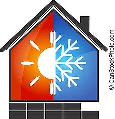 klimaanlage, symbol