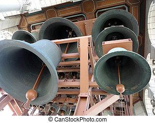 klingen, groß, glocken, berekely, campanile