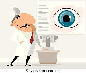 kliniek, oogarts