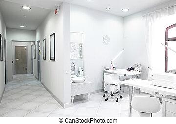 klinika, európai, orvosi, fényűzés