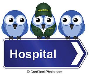 klinikum, zeichen
