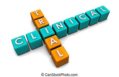 klinisk, prov