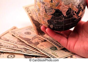 klode verden, marked, firma, økonomi