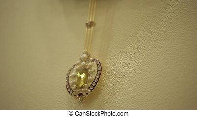 klok pendulum, closeup