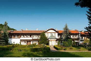 klooster, oud, bulgarije