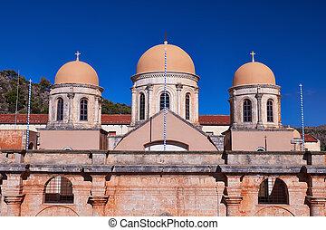 Kloster Agia Triada - Monastery of Agia Triada of Chania in ...