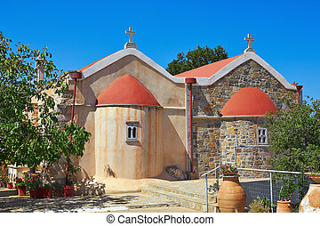 Kloster Koufi Petra - Monastery of Koufi Petra near Neapolis...