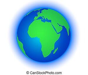 klot, kartera, värld