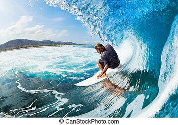 klouzání na vlnách