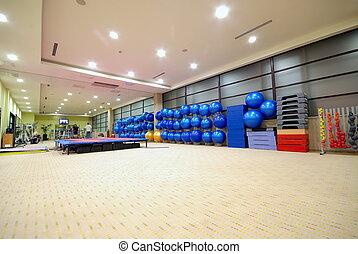 klub, fitness