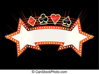 klub, kasino, design, einladung