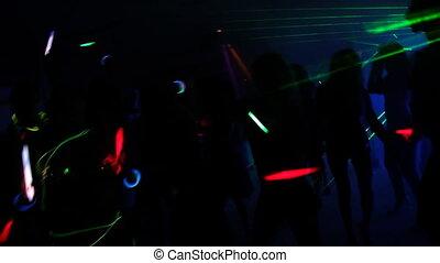 klub, noc