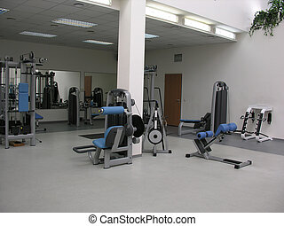 klub, sala gimnastyczna, zdrowie