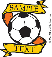 klub, symbol, fußball, (soccer)