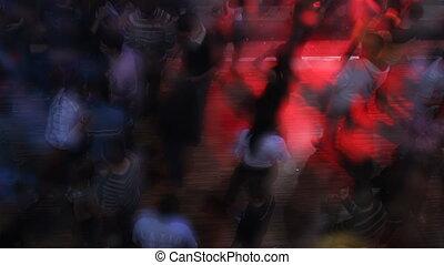 klub, tancerze
