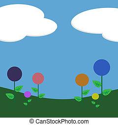 klubba, blomningen, bakgrund