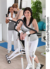 Klubba, damen,  fitness
