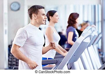 klubba, fitness
