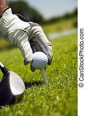 klubba, golf