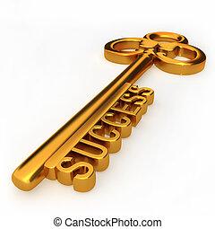 klucz, powodzenie