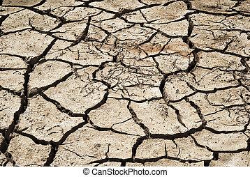knäckt, lera