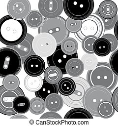 knäppas, mönster, seamless