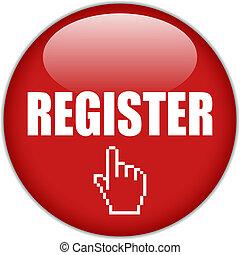 knap, vektor, register