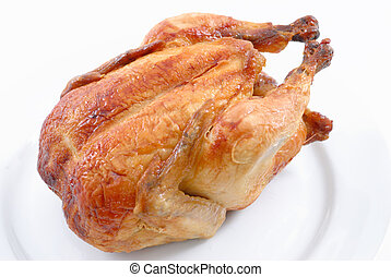 knapperig, chicken