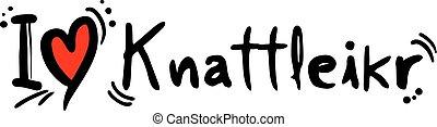 knattleikr, miłość