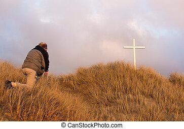 Knee Before Cross