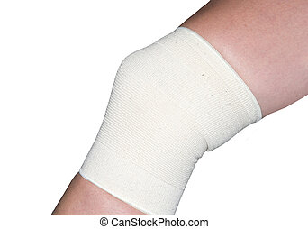 KNEE SUPPORT - knee support on a white background