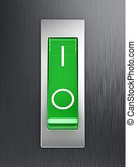 knevel, groene, switch