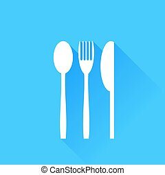 Knife Fork and Spoon