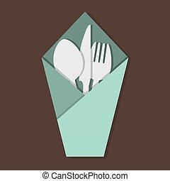 Knife Fork Spoon Set.