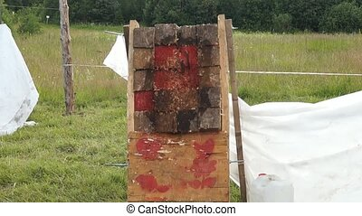 Knife Throwing, tournament - Knife Throwing, knives throwing...
