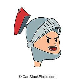 knight cartoon icon