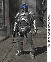 Knight In Shining Space Armour