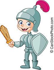 Knight kid - Happy knight kid