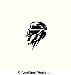 knight logo vector illustration