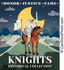 Knight Poster Illustration